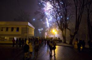 """""""Światełko do nieba"""" Zakończenie 22 Finału WOŚP w Lidzbarku Warmińskim"""