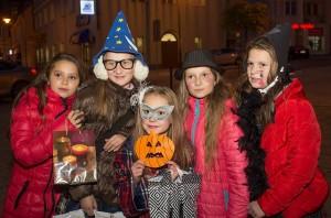 Halloween na lidzbarskim deptaku