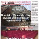 Drukowany NaszLidzbark już jest - wydanie październikowe. Sprostowanie