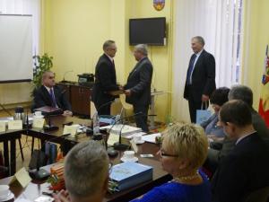 Pożegnalna Sesja Rady Powiatu