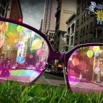 Miasto w różowych okularach