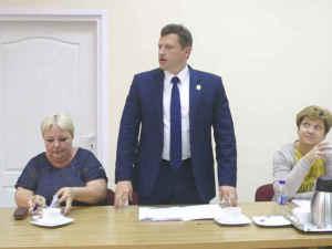 Burmistrz Miasta pan Jacek Wiśniowski
