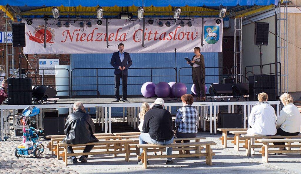 Oficjalne otwarcie Niedzieli Cittaslow w Lidzbarku Warmińskim