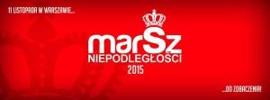 Marsz Niepodległości 2015 w Warszawie