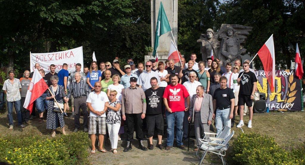 Bolszewika goń z pomnika