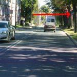 Niebezpiecznie przejście dla pieszych na ul. Lipowej